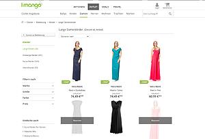 Электронный ресурс Limango женской и мужской модной одежды, обуви, аксессуаров, спортивного инвентаря и других сопутствующих товаров сезона весна-лето 2017.