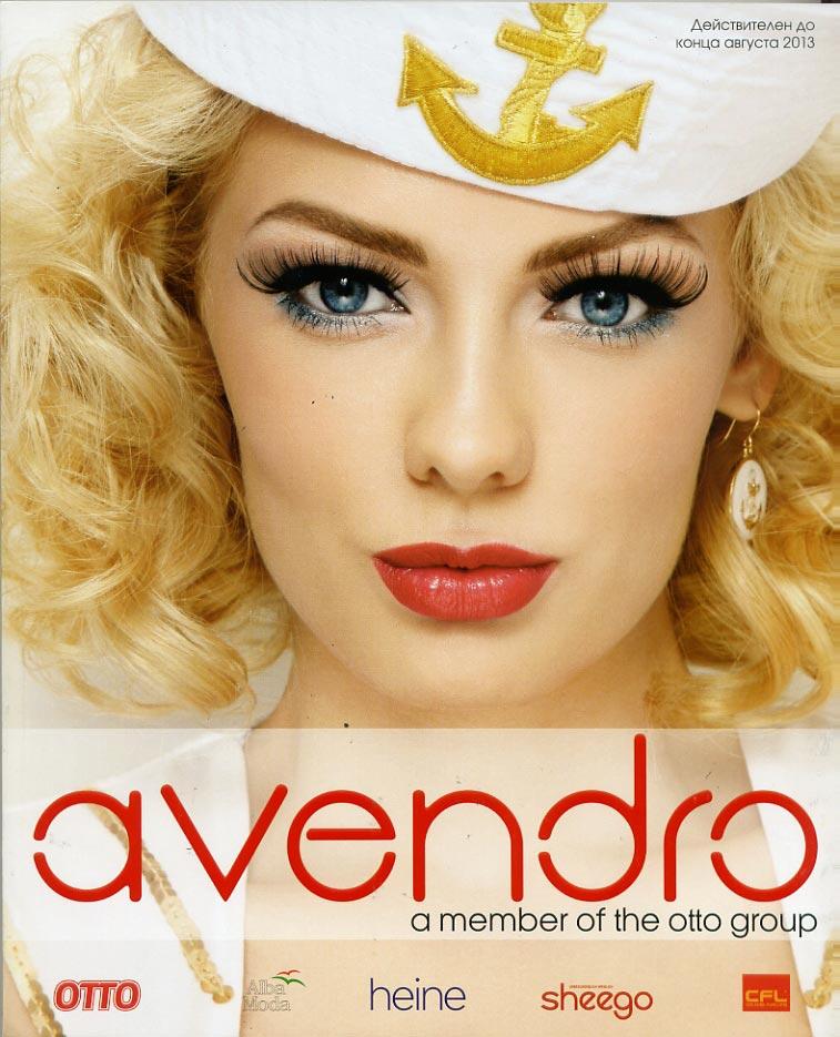 Avendro - каталог на русском языке модной одежды из группы ОТТО весенне-летнего сезона представляет модную верхнюю женскую одежду, джинсовую моду