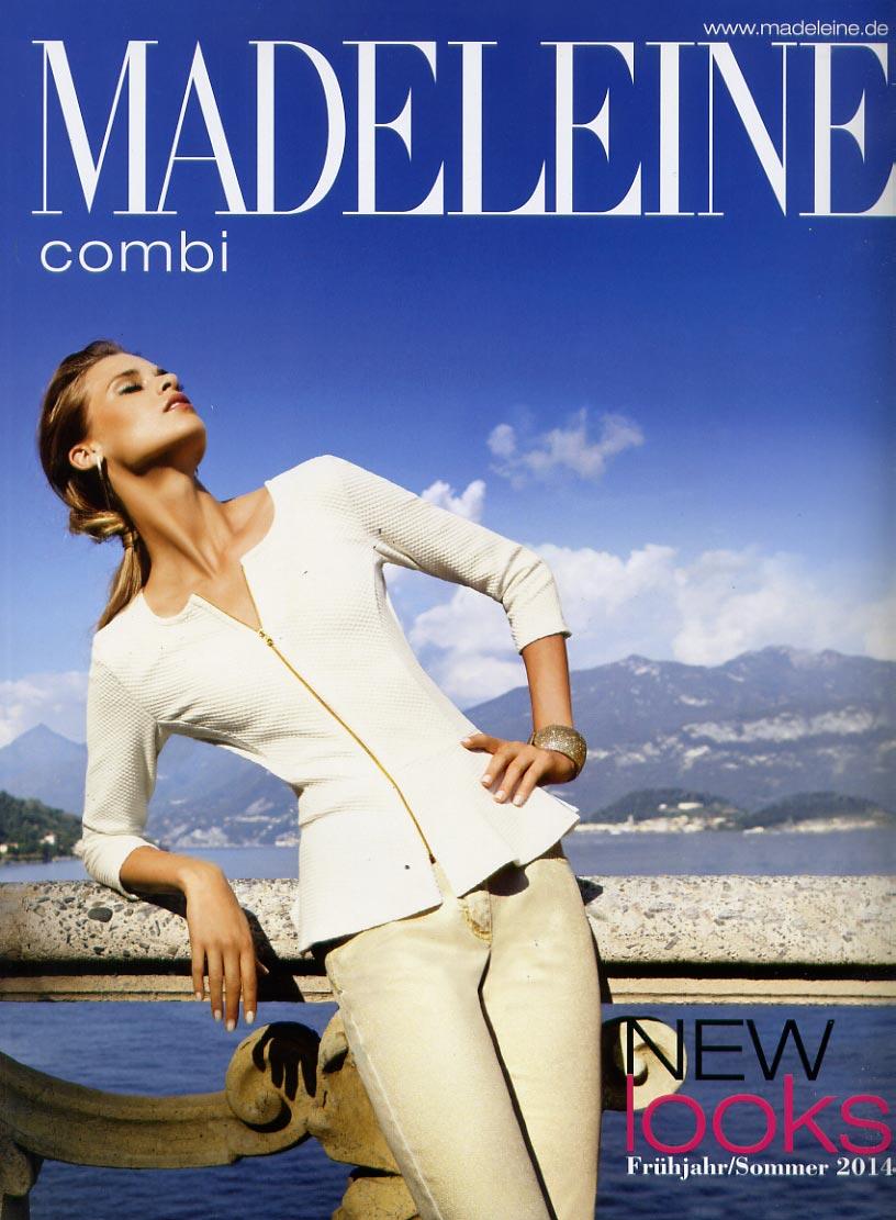 Madeleine combi - new looks - каталог эксклюзивной и притенциозной модной женской одежды сезона весна-лето 2014